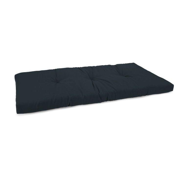 Jordan Manufacturing 12.5 x 38.5 in. Solid Indoor Bench Cushion - HN9684PK1-I1702