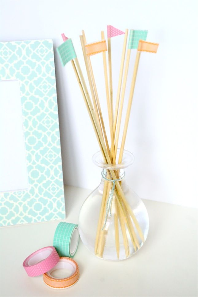 This DIY five-minute reed diffuser is so easy to make.