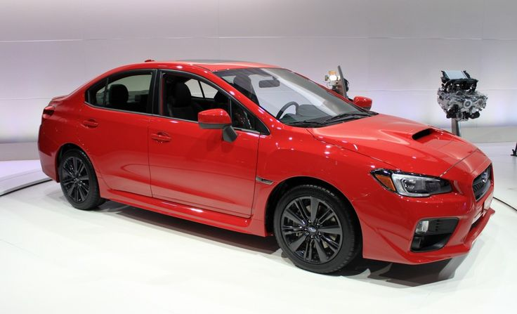 2015 Subaru WRX: LA Auto Show Video And Live Photos