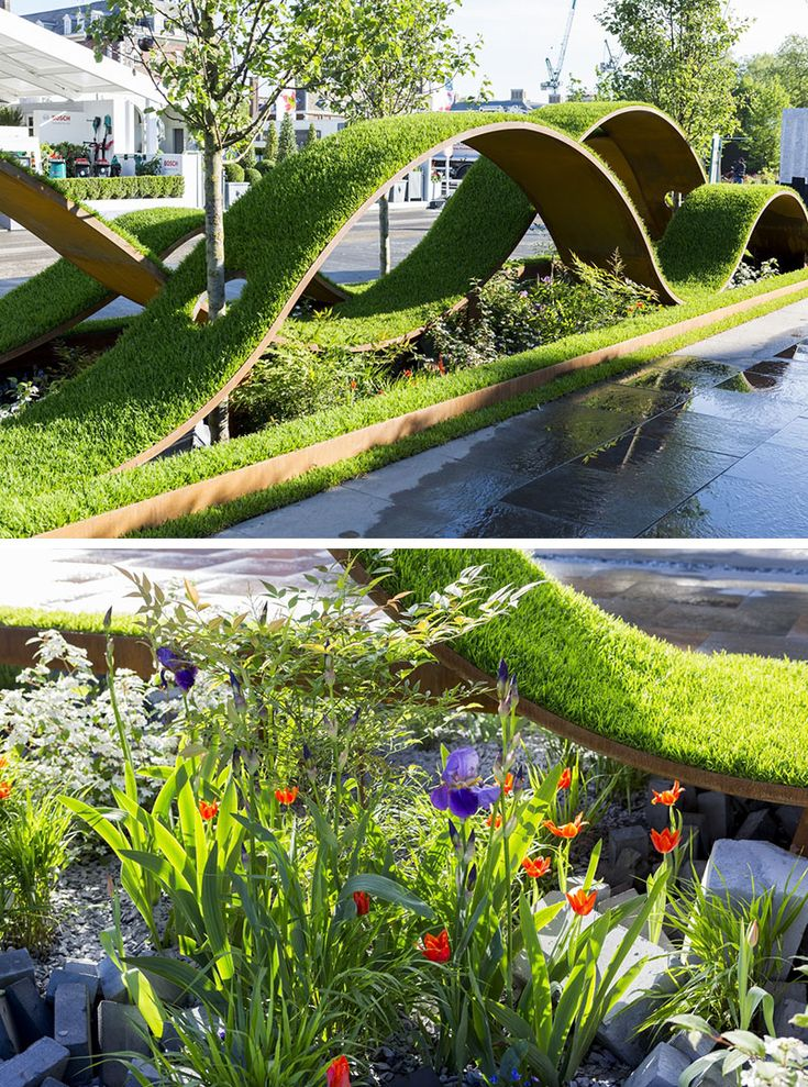 12 Inspirational Garden Designs From The 2016 Chelsea Flower Show // The World Vision Garden, designed by John Warland.