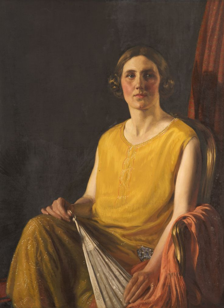 Lorna Beadle by Raymond Ray-Jones, in the Astley Cheetham collection