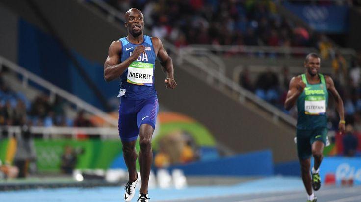 LaShawn Merritt Lone American in 400m Olympic Final