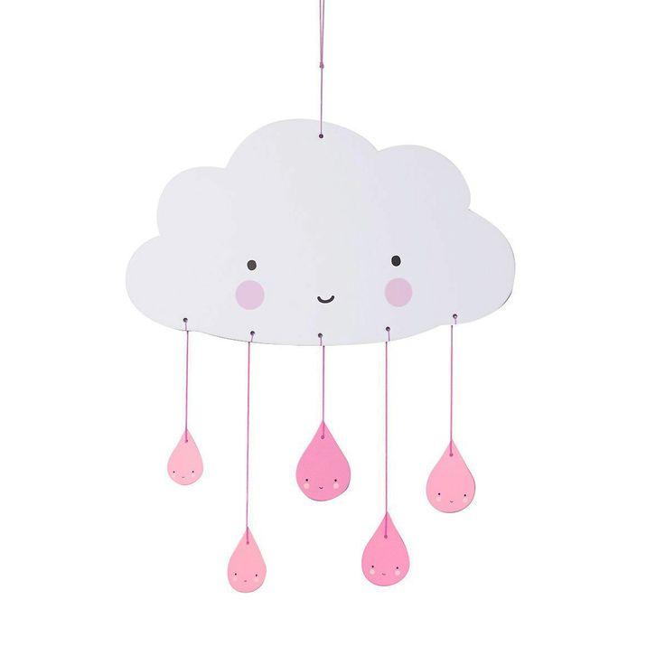 les 25 meilleures id es concernant mobile nuages sur pinterest mobiles en feutre et chambre b b. Black Bedroom Furniture Sets. Home Design Ideas