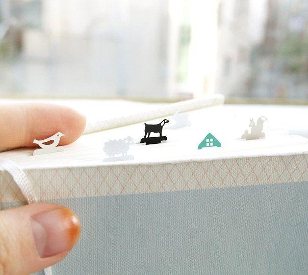 Kawaii Steel Bookmark / Cute Bookmark / 10433294 by DubuDumo