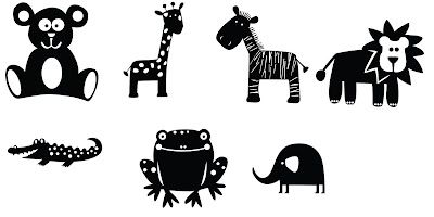 FREE cut file by KLDezign: cute animals #silhouette #cameo