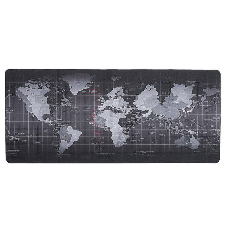 World Map Large Size 80*30cm Speed Game Mouse Pad Mat Gaming Mouse Mat Game Computer Desk Mouse Mat for Gamer
