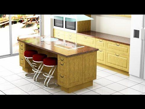 128 best ideas cocina images on pinterest small kitchens for Como disenar una cocina