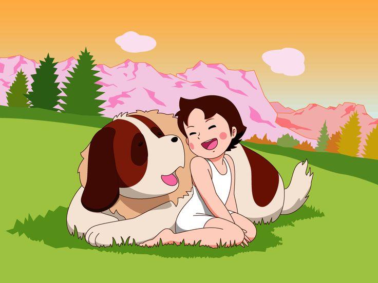 Heidi and the Alps Dog Joseph~ ・ 「ハイジと犬のヨーゼフ~ 」 ・ アルプスの少女ハイジ『Heidi, Girl of the Alps』・ 世界名作劇場 「World Masterpiece Theater」・ 1974 ・