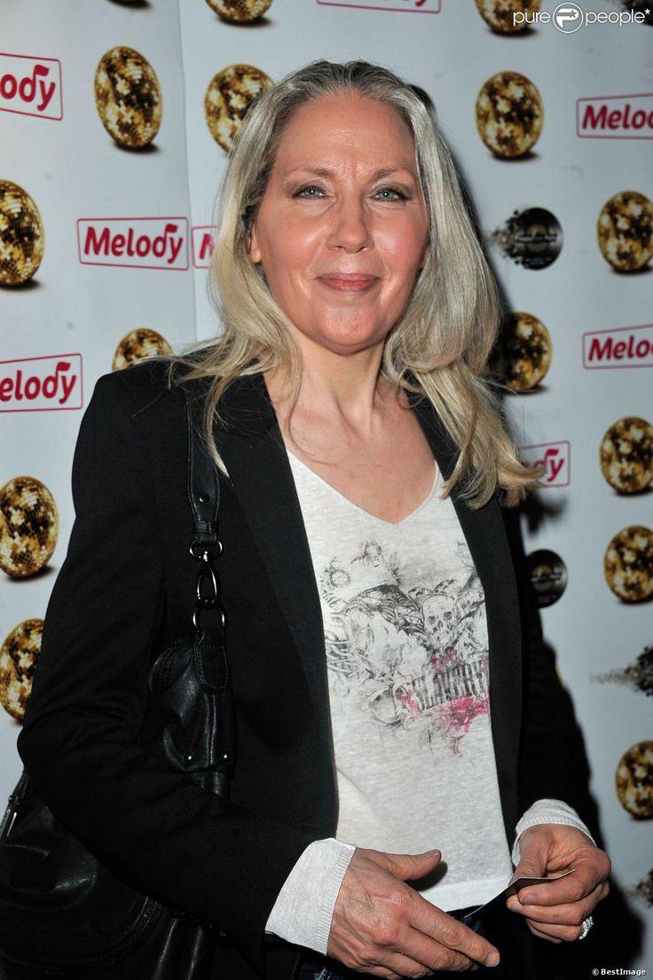 """Corinne Hermes (Chanteuse ayant eu la victoire du grand prix Eurovision en 1983 pour le Luxembourg) - 12e anniversaire de la chaîne """"Télé Melody"""" au Happy Day's à Paris le 26 septembre 2013."""