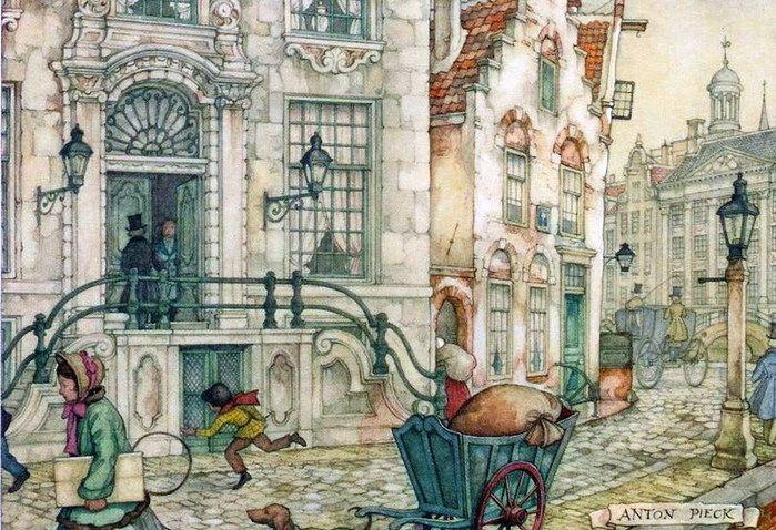 Anton Pieck drawings -