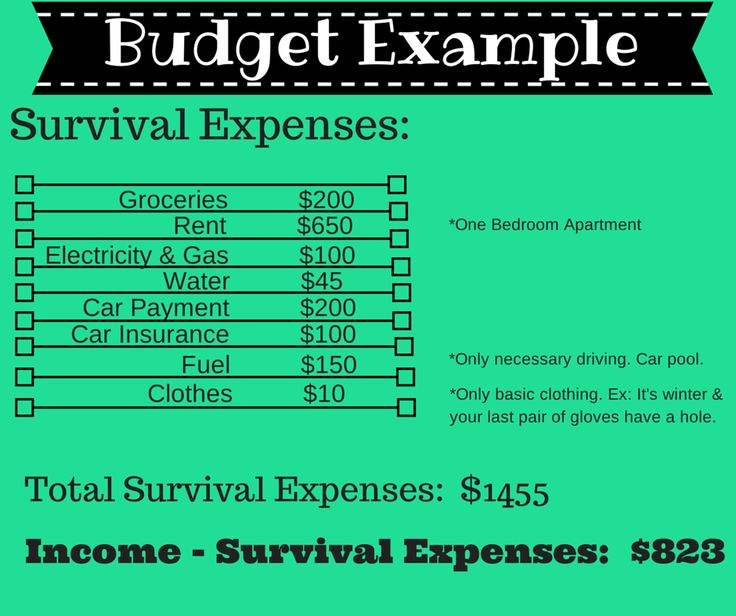 Budget Example (1)