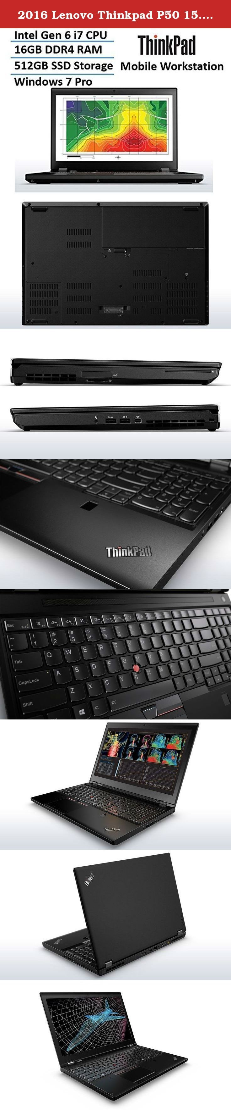 Awesome Lenovo ThinkPad 2017: 2016 Lenovo Thinkpad P50 15.6-inch Workstation Laptop (up to 3.5 GHz Intel Core ...  Traditional Laptops, Laptops, Computers & Tablets, Computers & Accessories, Electronics Check more at http://mytechnoworld.info/2017/?product=lenovo-thinkpad-2017-2016-lenovo-thinkpad-p50-15-6-inch-workstation-laptop-up-to-3-5-ghz-intel-core-traditional-laptops-laptops-computers-tablets-computers-accessories-electronics