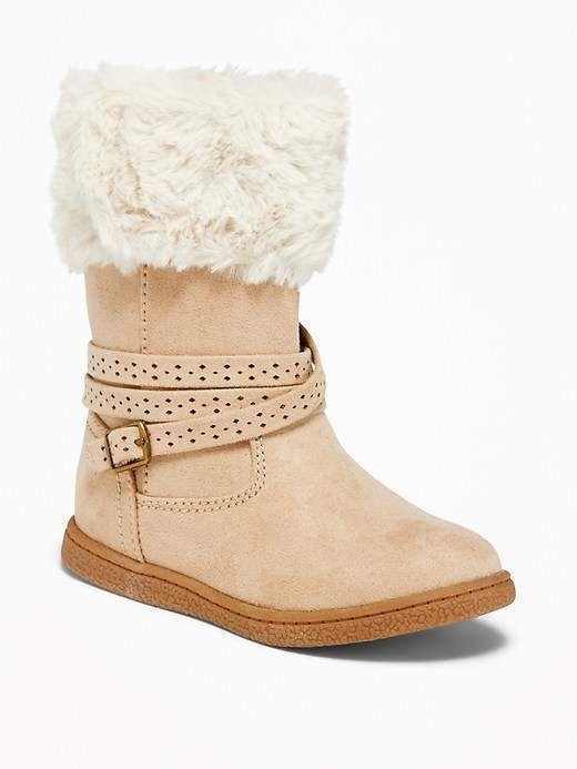 wholesale dealer e6ade 97413 Old Navy Faux-Fur-Trim Buckled Boots for Toddler Girls  toddlergirl,   oldnavy,  boots,  promotion