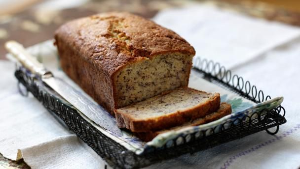 Banana bread |      This is an easy recipe that gives perfect results every time. Be sure to use overripe bananas and the right sized tin.