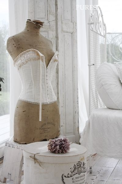 53 best shabby chic dress forms images on pinterest. Black Bedroom Furniture Sets. Home Design Ideas