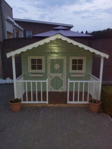 Como hacer una casita de madera con palets