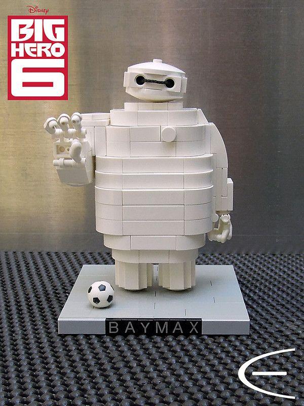 LEGO Baymax (Disney Big Hero 6) | Meet Baymax, Hiro's roboti… | Flickr