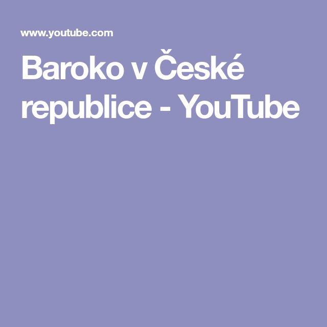 Baroko v České republice - YouTube