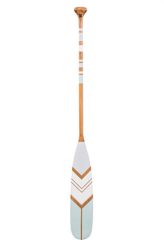 canoe paddle decorative oar wood canoe paddle by Ropesandwood