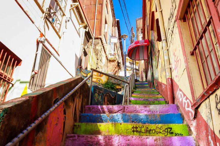 Escaleras del Cerro Alegre, Valparaíso