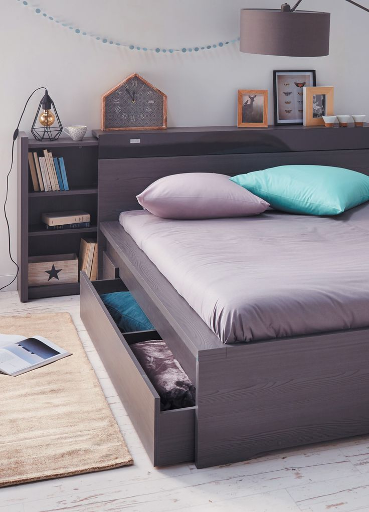 les 25 meilleures id es de la cat gorie lit alinea sur pinterest tete de lit alinea chambre. Black Bedroom Furniture Sets. Home Design Ideas