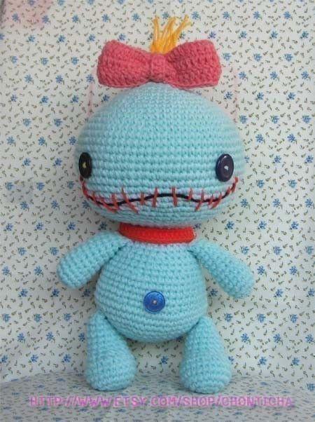SCRUMP 12.5 inches - PDF amigurumi crochet pattern ...