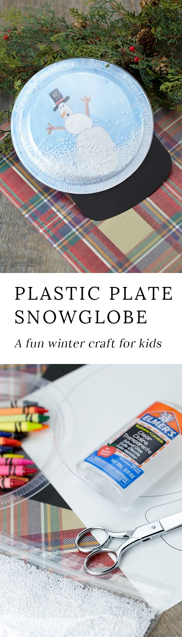 Kids of all ages will enjoy making a sweet Snowglobe Craft to gift or keep this holiday season. They are easy, fun, and perfect for home or school. #wintercrafts #snowglobecraft #kidscrafts via @https://www.pinterest.com/fireflymudpie/