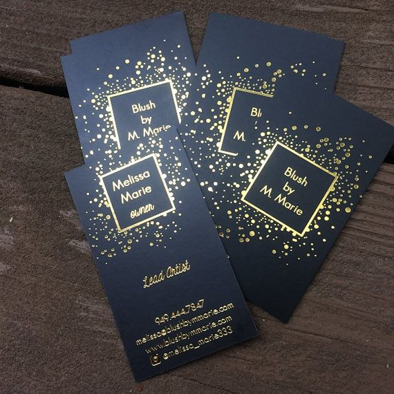 407 best gold foil business cards images on pinterest gold foil fancy premium quality business cards for all the beautypreneurs foil business cards with a colourmoves Gallery