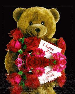 A nuestros amigos seguidores, se acerca el Día del Amor y para esta ocasión les ofrecemos estos Ositos de amor para el Día de los enamorados,