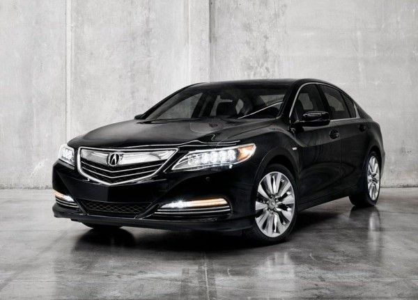 2014 Acura RLX Sport Hybrid Black Colors 600x431 2014 Acura RLX Sport Hybrid Full Review with Images