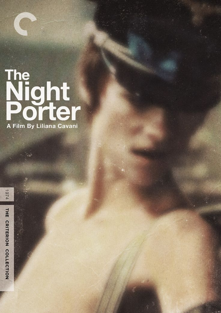 "Criterion Cover for Liliana Cavani's 1974 Film ""The Night Porter""    MM = Midnight Marauder"