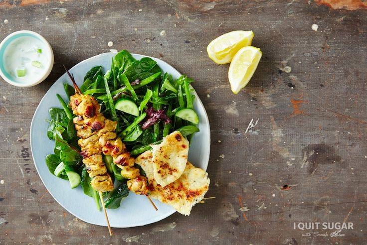 Chicken Tikka Skewers on the 8-Week Program – I Quit Sugar