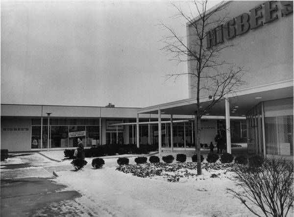 Higbee's at Westgate Mall in Fairview Park in 1966. (Cleveland Memory Project)