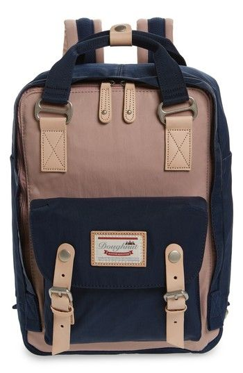 c53f5875fa Doughnut Macaroon Colorblock Backpack in 2018