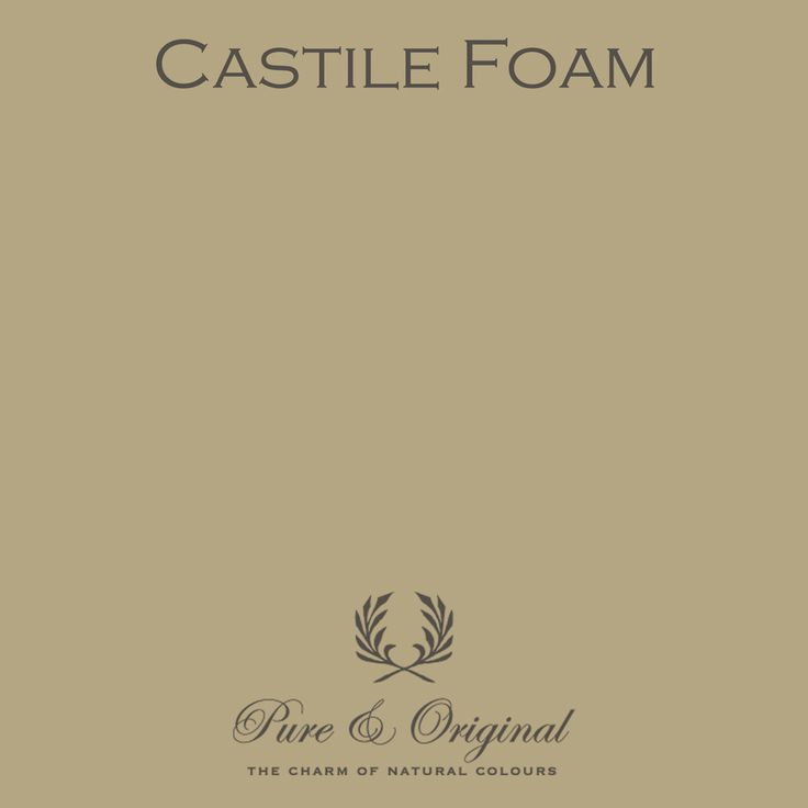 Castile Foam - Pure & Original - paint