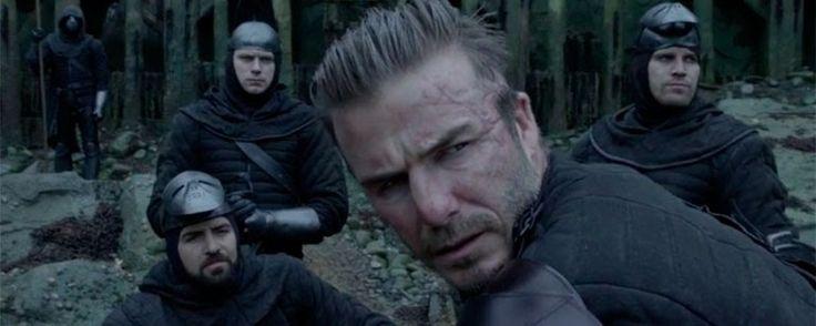 'El rey Arturo: La leyenda de Excalibur': David Beckham protagonista del primer clip de la película