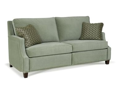 Another reclining sofa that does not look like and overstuffed reclining  sofa - Bartlett Home Furnishings