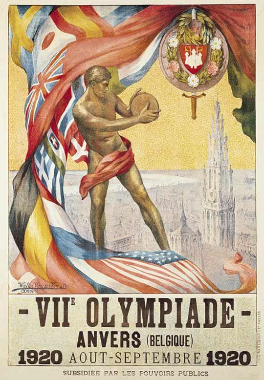 Jeux olympiques d'été de anvers 1920 | anvers Vidéos, Photos, Media olympique