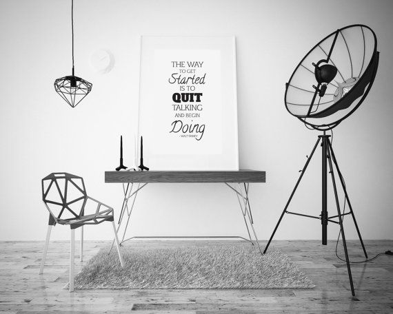 Quit Talking Start Talking  Walt Disney  by LiveDreamDesign