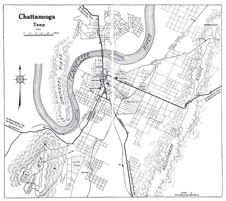 Best Chattanooga Historic Photos Images On Pinterest - Chattanooga on us map
