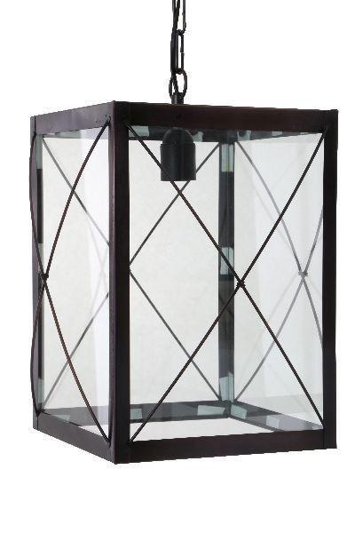 Hanglamp CORRIDOR 25 cm Donker Brons Gloeilamp - E27 - 40 watt