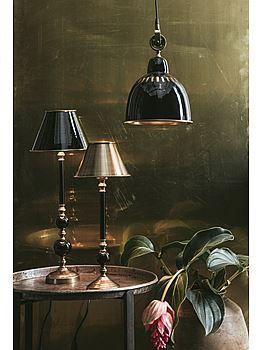 PR Home Lampfot Abbey, skärm Metall, taklampa Cleveland.