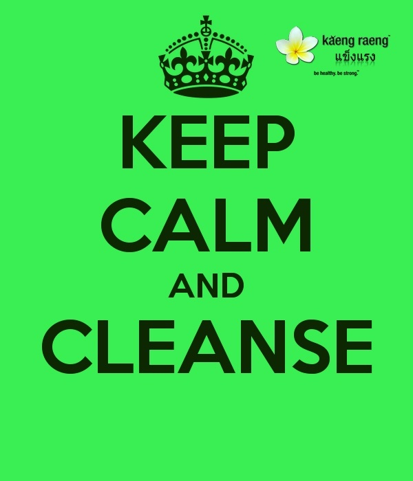 Keep Calm and #Cleanse
