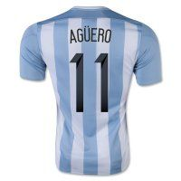 2015 Argentina Soccer Team AGUERO #11 Home Replica Jersey 2015 Argentina Soccer Team AGUERO #11 Home Soccer jerseys|cheap Agentina football jerseys sale|acejersey.org [C253] - $22.99 : Cheap Soccer Jerseys,Cheap Football Shirts | Acejersey.org