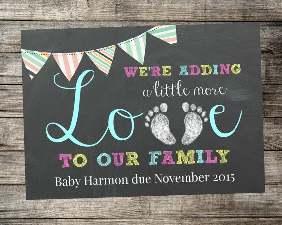Expecting Baby Announcements 2015