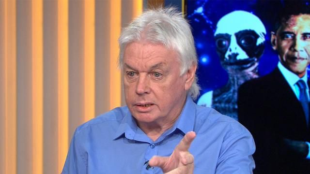 Well-known conspiracy theorist David Icke has clashed with TODAY Show hosts Karl Stefanovic and Lisa Wilkinson over the origins of the moon and the existence of aliens.