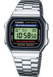 Часы Casio Illuminator A-168WA-1Y / A-168WA-1YES