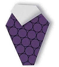 Origami Grape