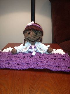 Doc McStuffins LoveyCrochet Ideas, Crafts Ideas, Boogie Crochet, Blankets Dolls, Crochet Doc Mcstuffins, Crochet Accessories, Cocoon Crochet, Mcstuffins Lovey, Lovey Pattern