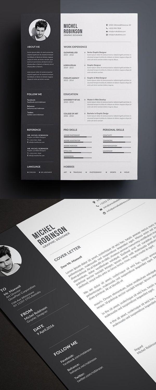 50 Best Resume Templates For 2018 Design Graphic Design Junction Best Resume Template Resume Design Creative Resume Design